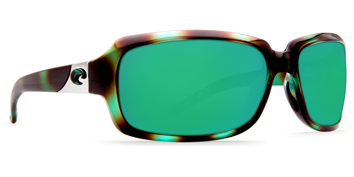 ib128 shiny seagrass green mirror lens angle4